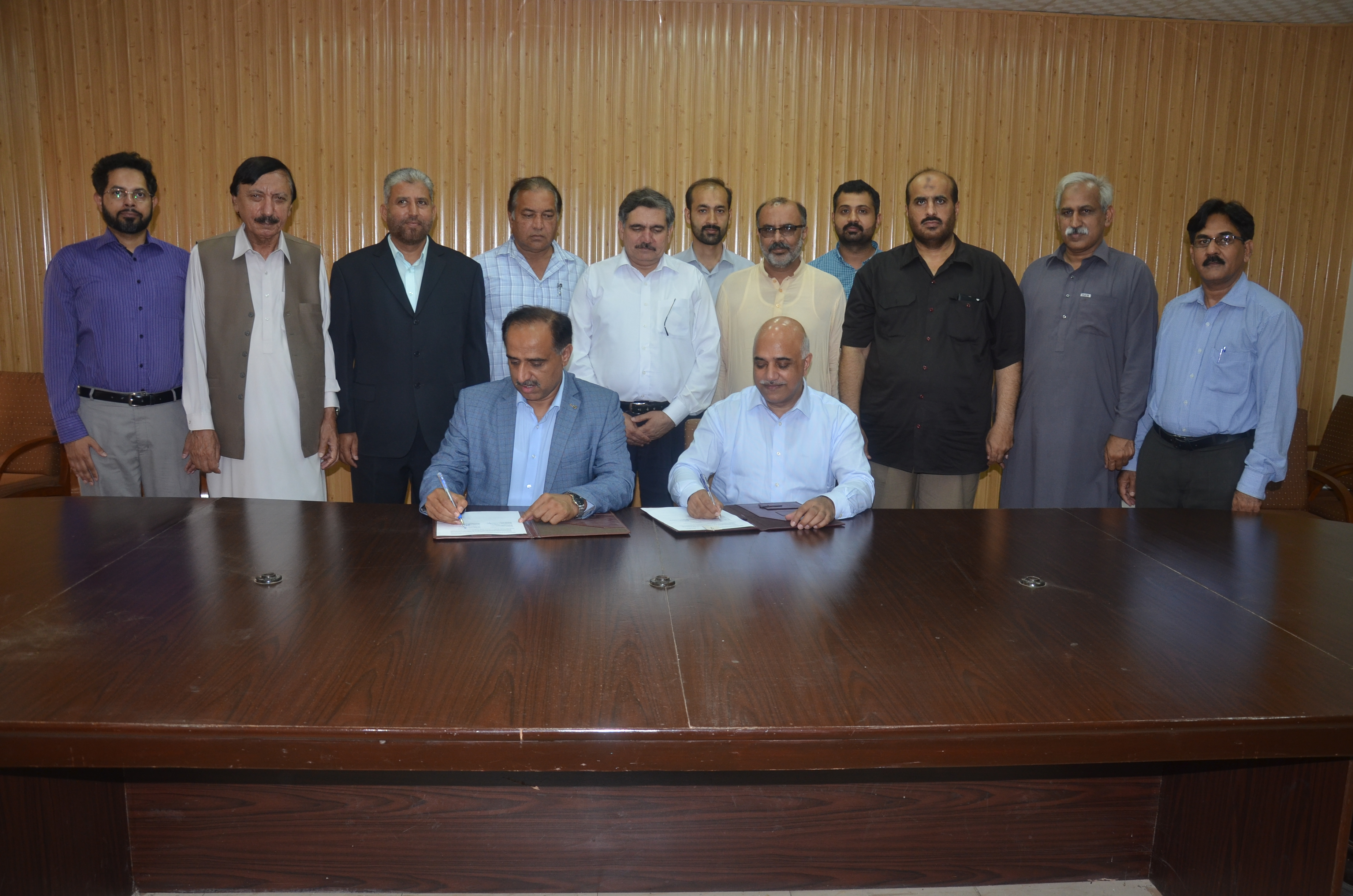 Contract Signing on 22nd July 2019 Between WAPDA & CDIGITAL, Rawalpindi